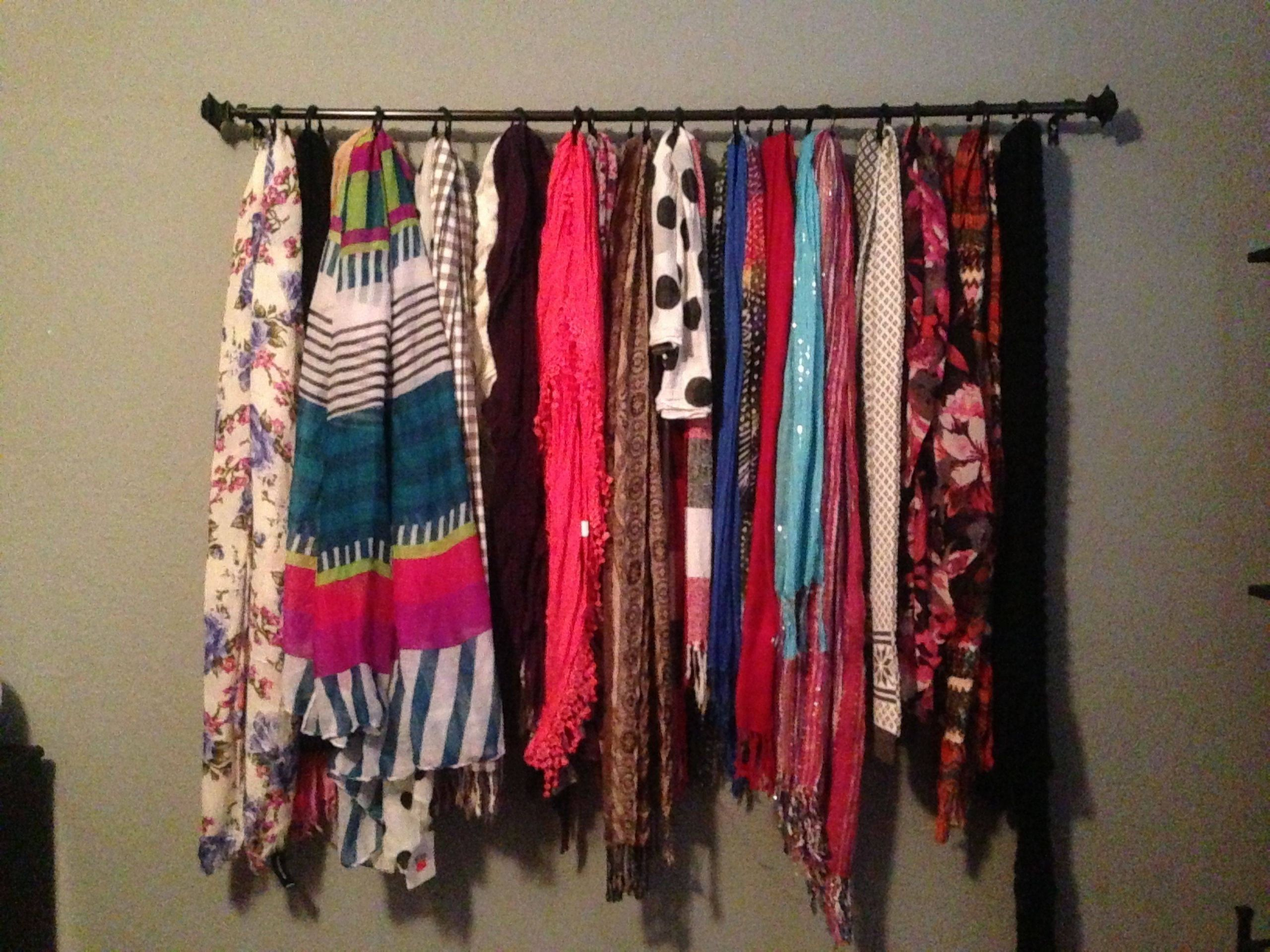 Scarf Holder Ikea Fresh Scarf Storage