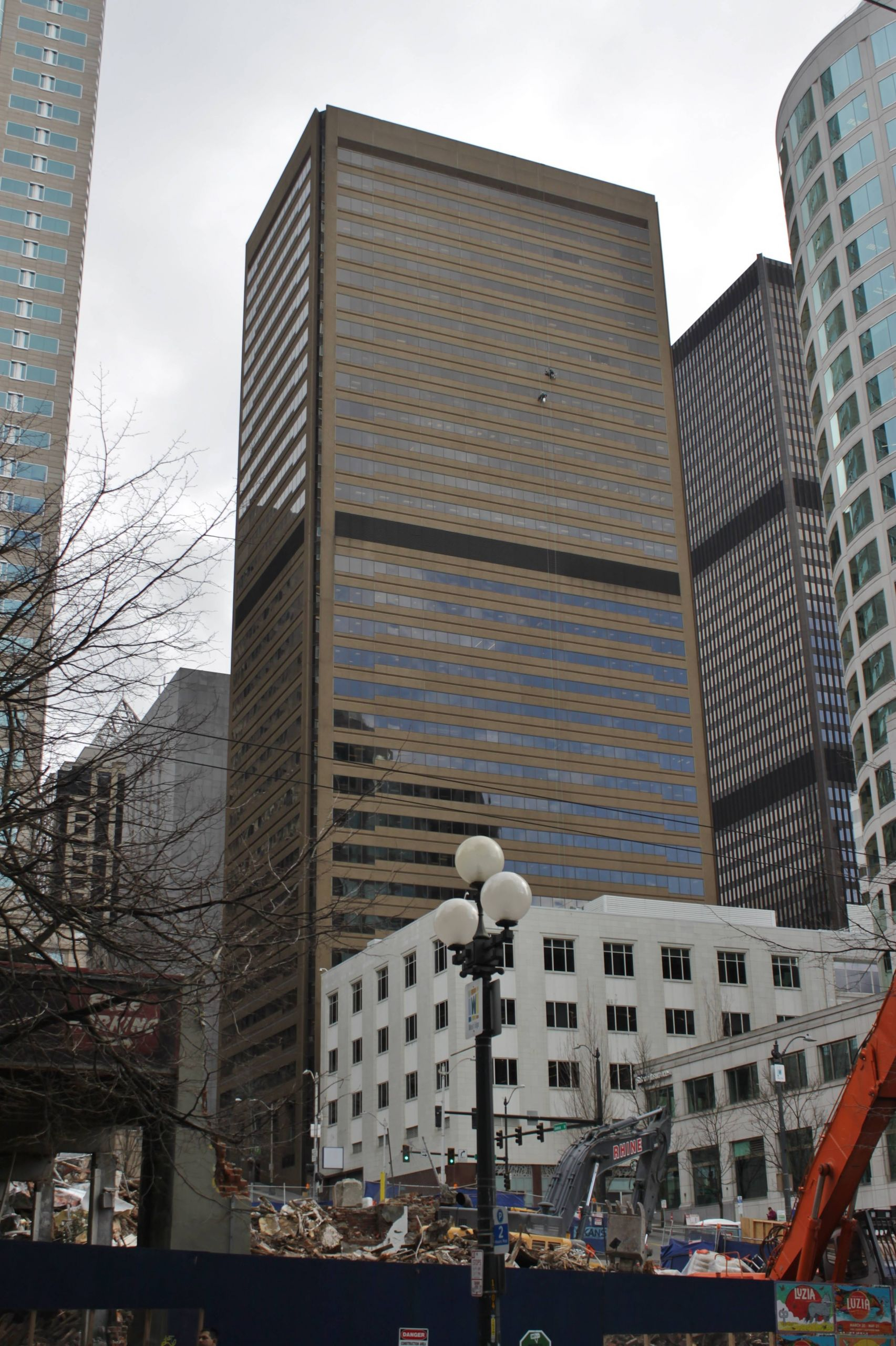 1111 Third Avenue Seattle from the west
