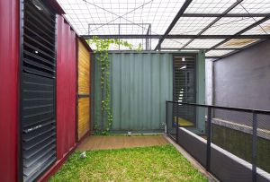 Shipping Containers Homes Beautiful Gallery Of Container for Urban Living atelier Riri 4