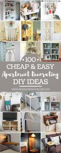 Small Apartment Decorating Ideas Best Of 100 Cheap and Easy Diy Apartment Decorating Ideas