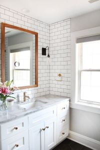 Small Bathroom Remodels Beautiful A Master Bath Remodel with A Modern Twist On A 1930 S