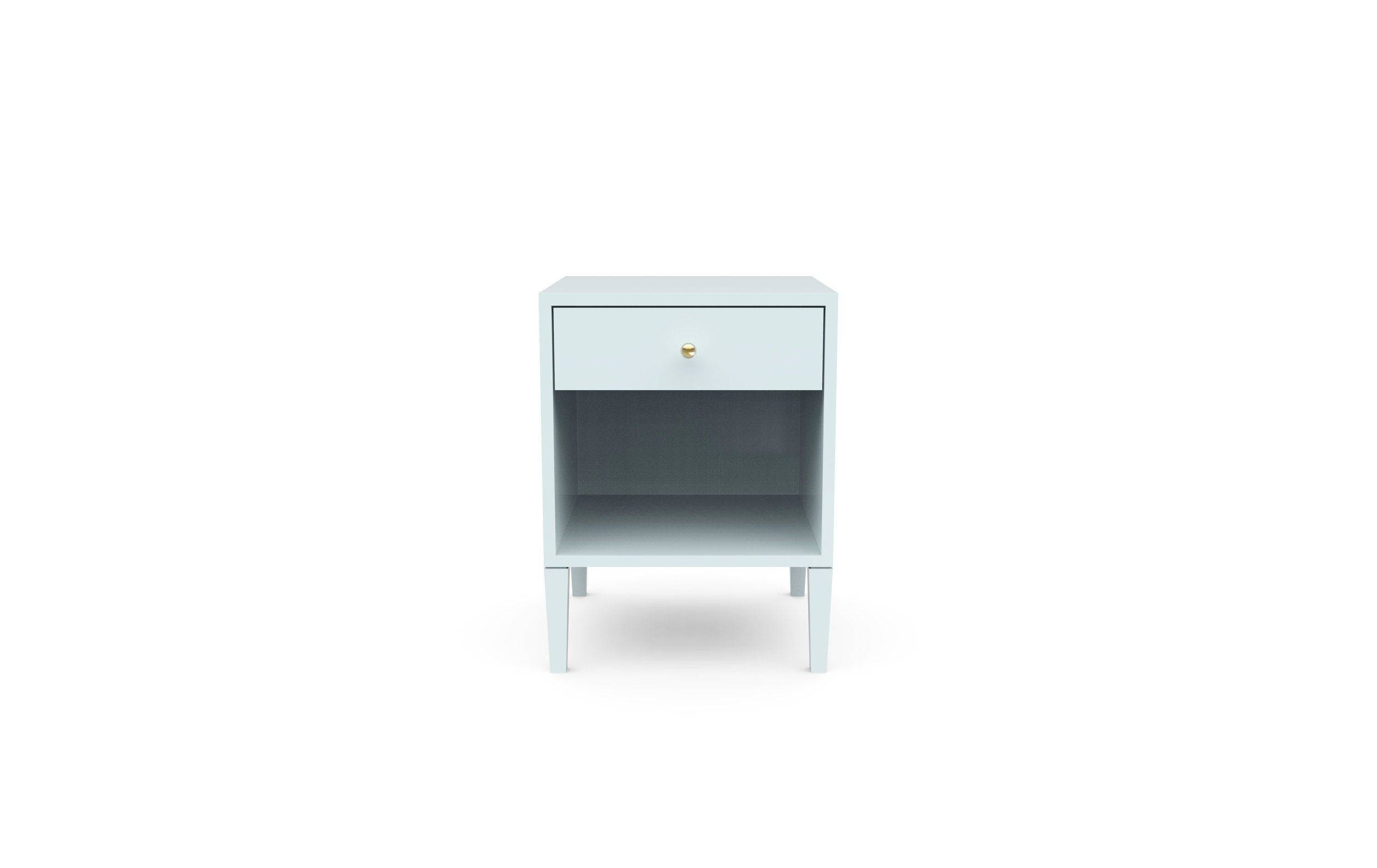 Small Bedside Table Elegant Warren Bedside Table Small