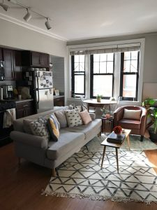 Studio Apartment Decorating Awesome A Smart Layout Makes This Studio Feel Big and Bright