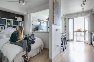 Studio Apartment Decorating Inspirational Every Inch Of This 550 Square Foot Studio is Well Designed