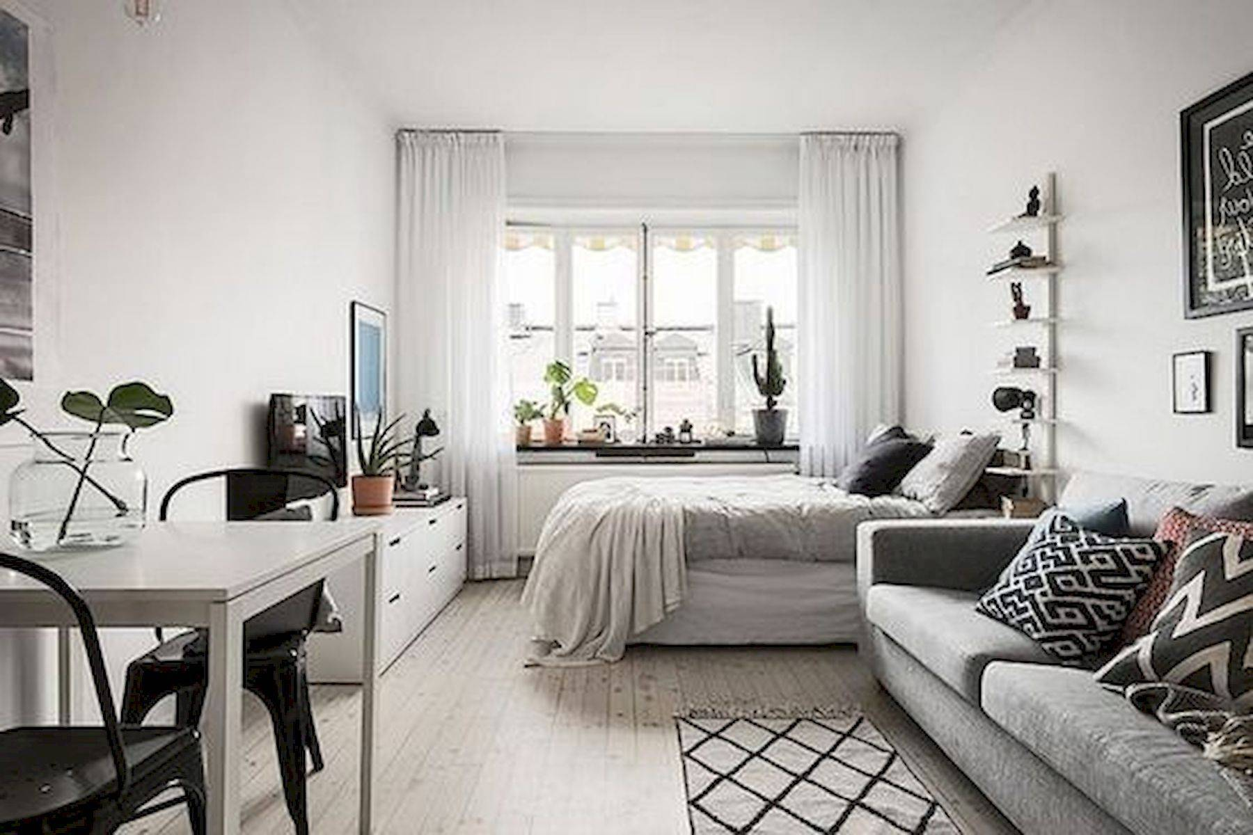Studio Apartment Interior Design Lovely Got A Super Small Studio Apartment Just because Your Square