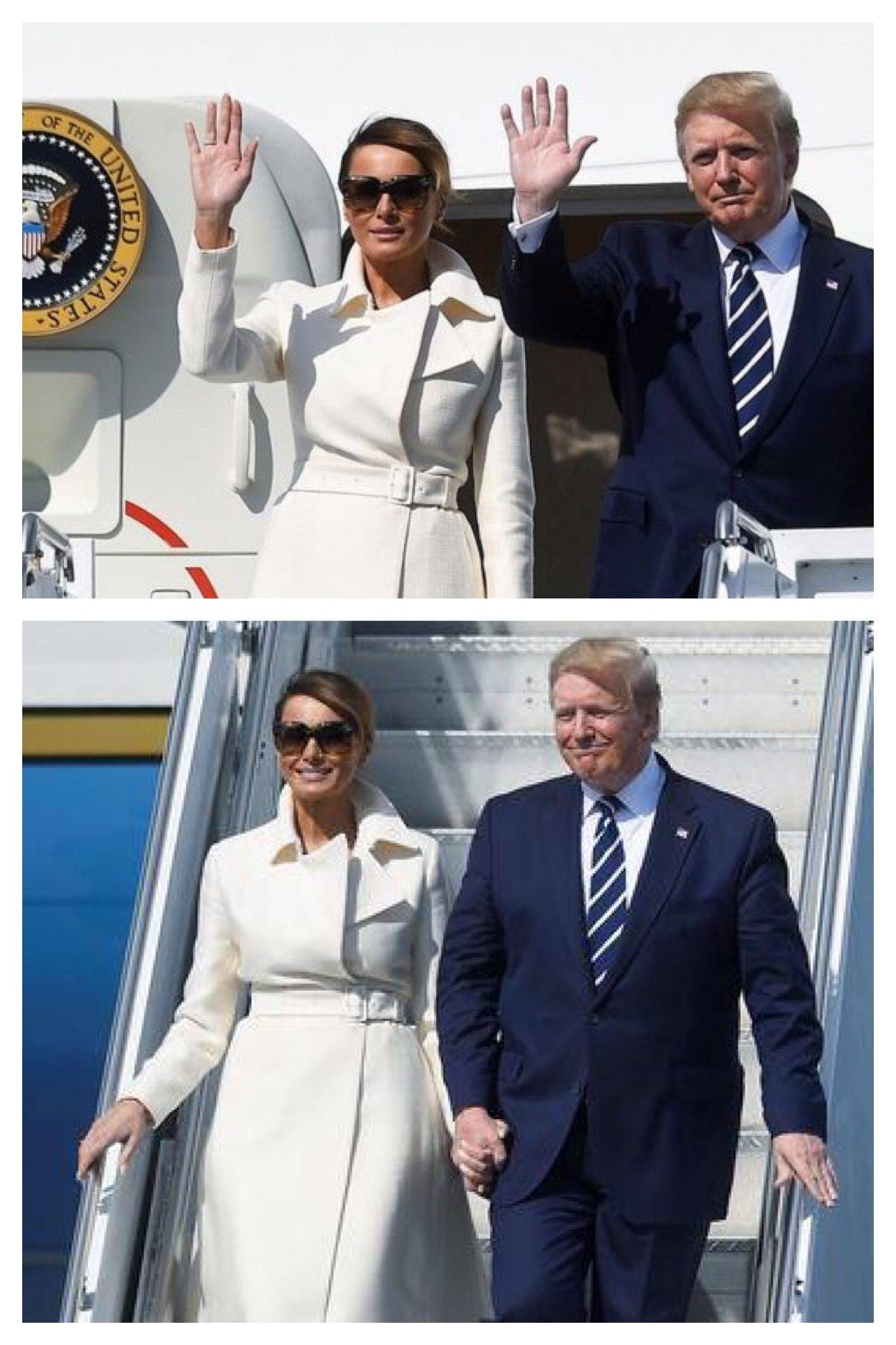 The First Lady Best Of President & First Lady Melania Trump Arrive In Ireland 6 5