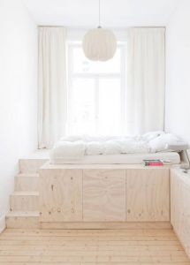 Tiny Bedroom Unique 10 Ideas for Dividing Small Spaces