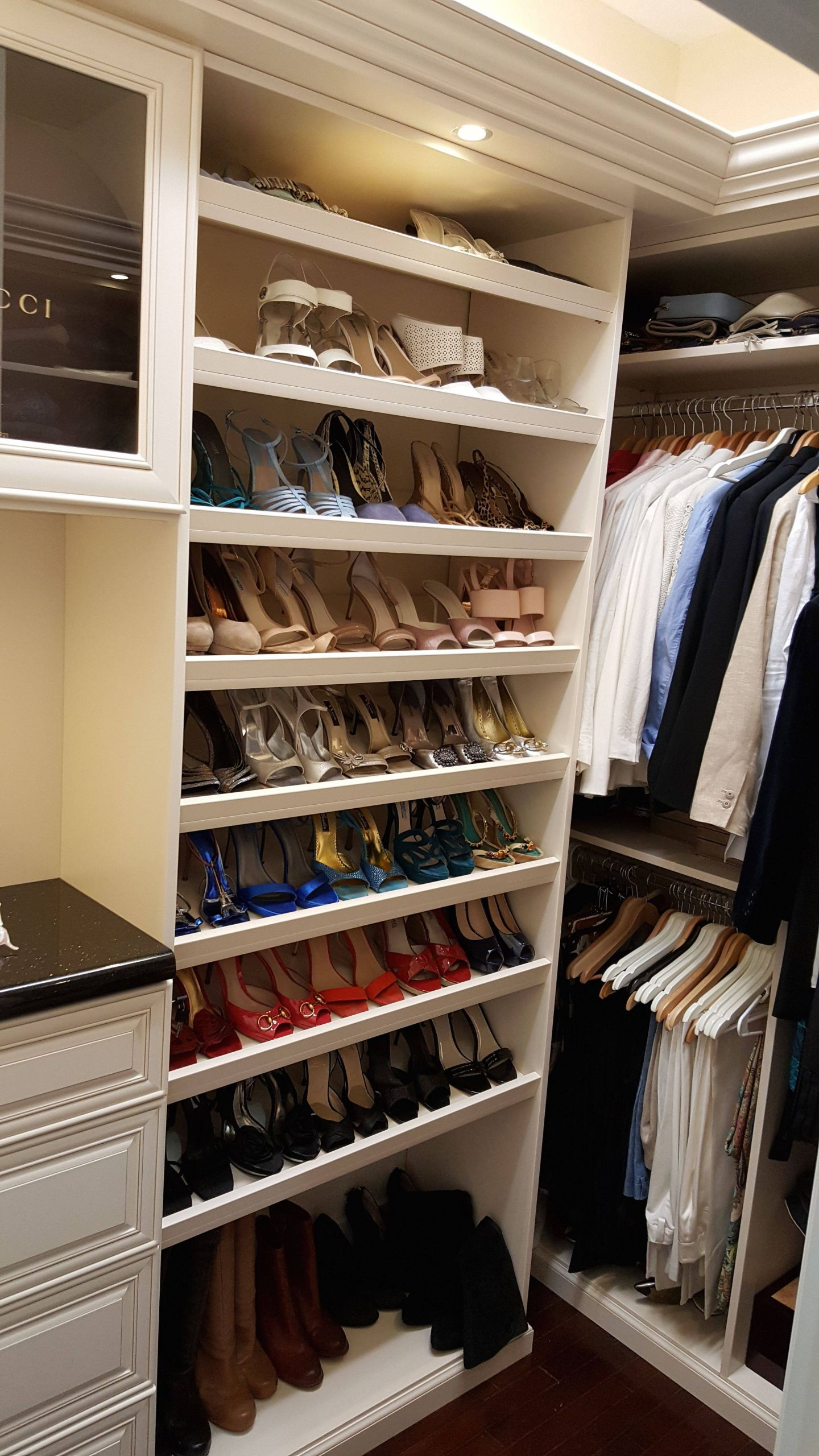 Walk In Closet Design Beautiful Another Amazing Job Done for This His and Her Walk In Closet