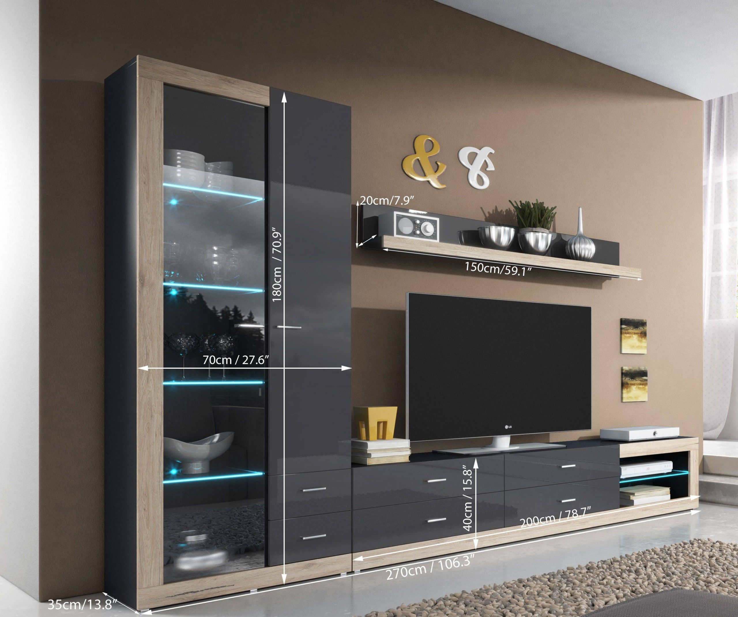 Wall Units for Living Room Contemporary New Entertainment Wall Units Tv Unit Storage