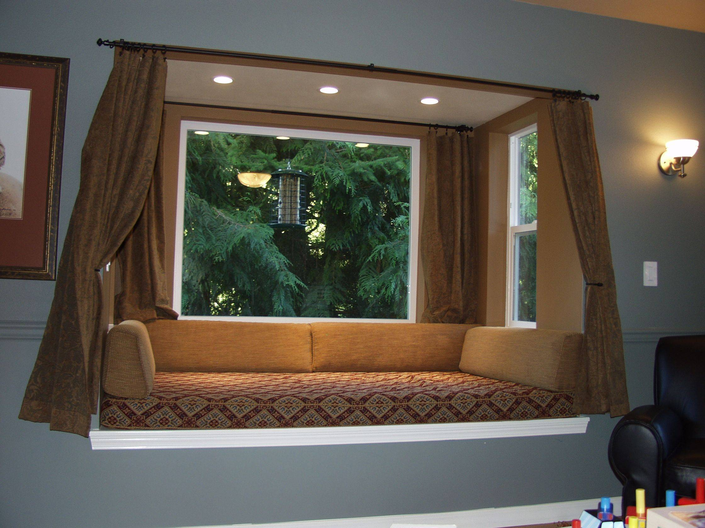 Window Seat Fresh Bay Window Design Creativity