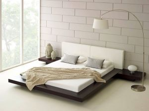 Zen Room New Zen Style Minimalist Bedroom with Platform Bed